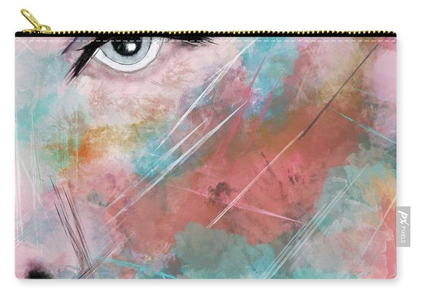 Sunset - Woman Abstract Art Carry-all Pouch