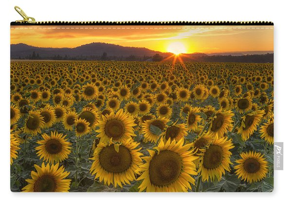 Sunshine And Happiness Carry-all Pouch