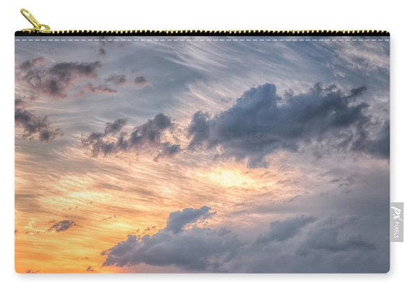 Sunshine And Storm Clouds Carry-all Pouch