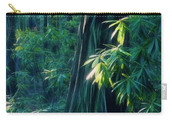 Sunshine In The Forest Carry-all Pouch