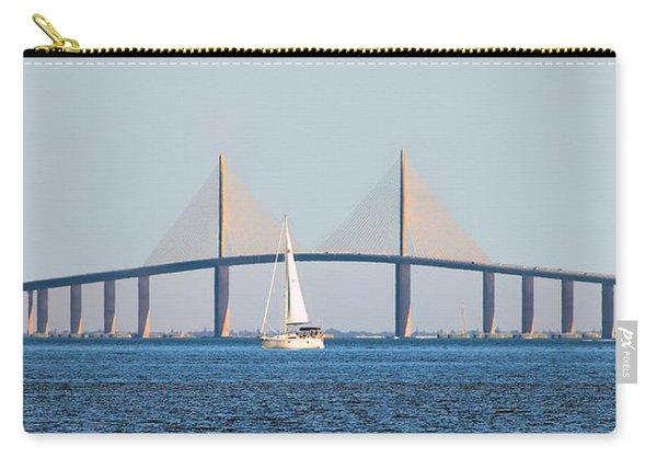 Sunshine Skyway Bridge #2 Carry-all Pouch