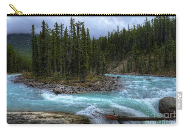 Sunwapta Falls Jasper National Park Alberta Canada Carry-all Pouch