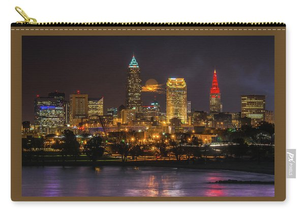 Super Moon 2016 Over Cleveland Carry-all Pouch