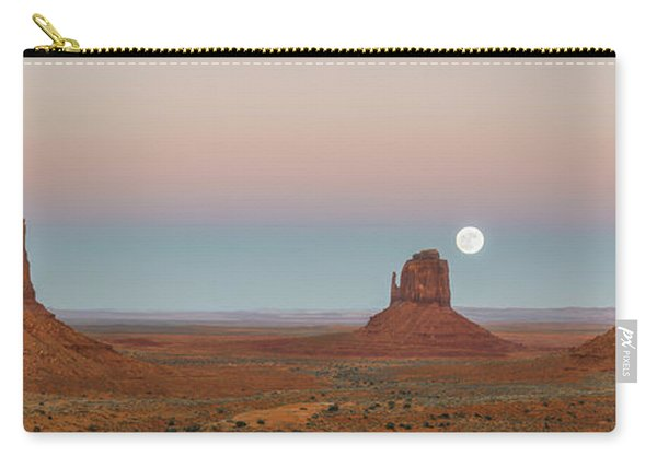 Super Moon In Monument Valley Carry-all Pouch