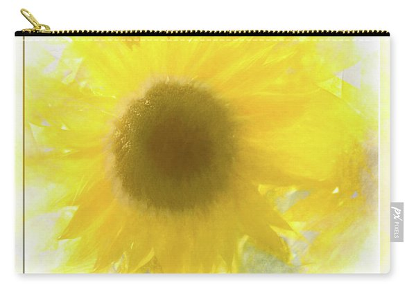 Super Soft Sunflower Carry-all Pouch