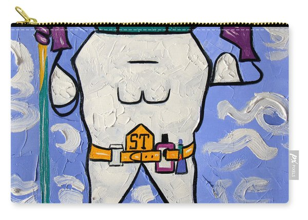 Super Tooth Carry-all Pouch