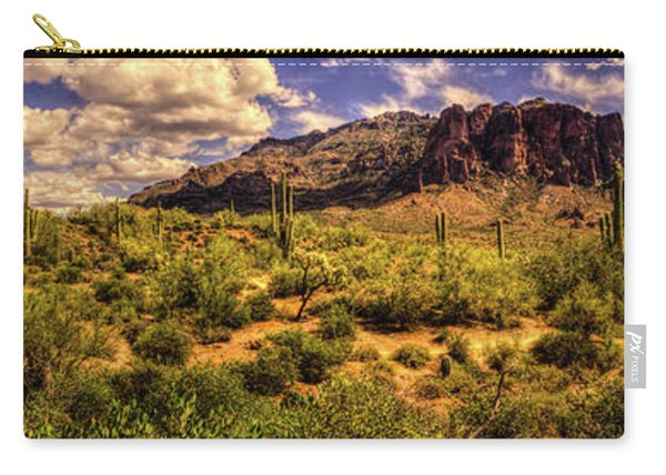 Superstition Mountain And Wilderness Carry-all Pouch
