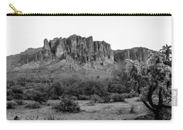Superstition Mountain B/w Carry-all Pouch