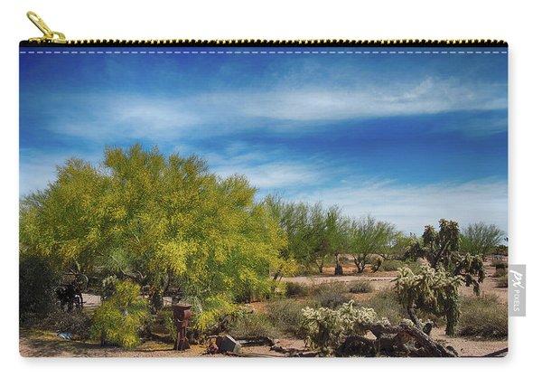 Superstition Mountains Carry-all Pouch