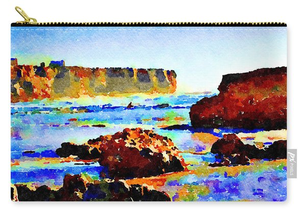 Surf The Headlands Carry-all Pouch