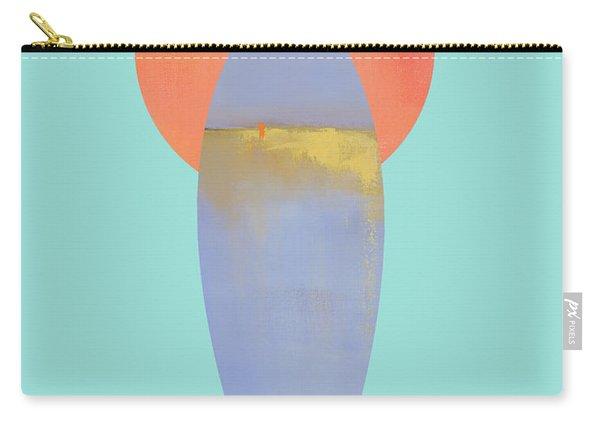 Surfboard Art Print Carry-all Pouch