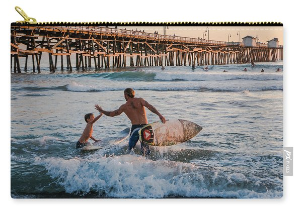 Surfboard Inspirational Carry-all Pouch