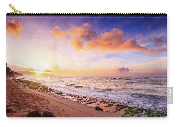 Surfer At Sunset Carry-all Pouch