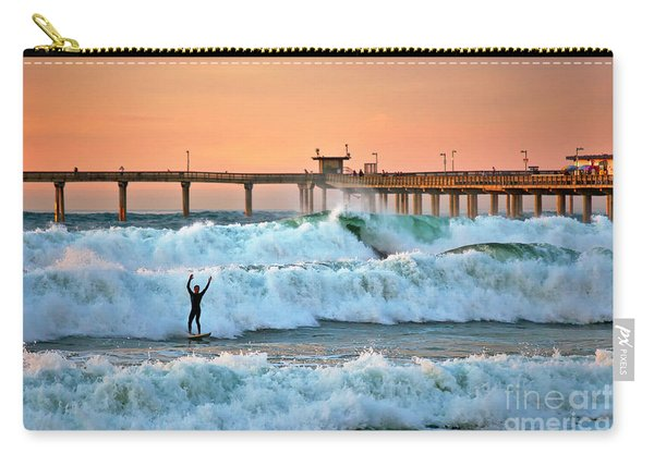 Surfer Celebration Carry-all Pouch