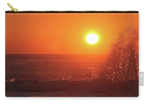 Surfing And Splashing Carry-all Pouch
