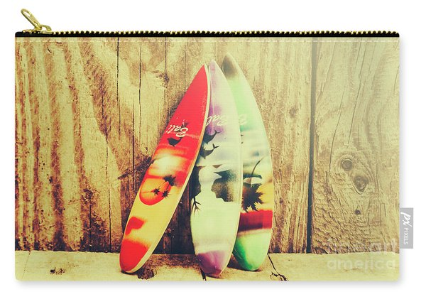 Surfing Still Life Artwork Carry-all Pouch