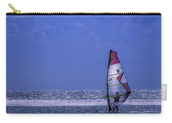 Surfing The Wind Carry-all Pouch