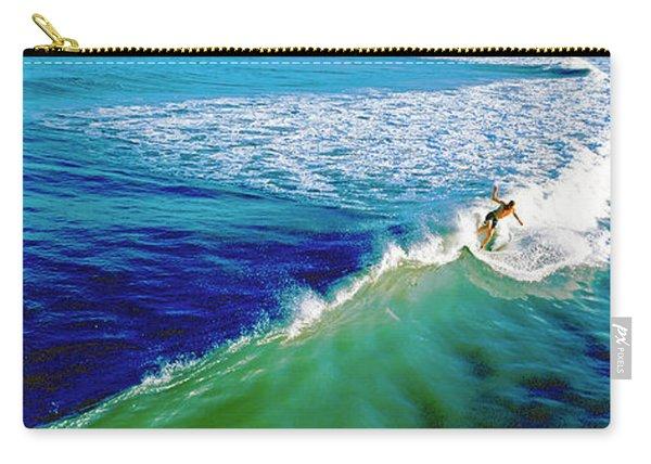 Surfs Up Daytona Beach Carry-all Pouch