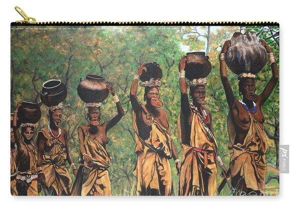 Blaa Kattproduksjoner        Surma Women Of Africa Carry-all Pouch