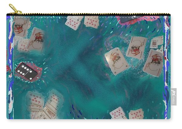 Surreal Lake Art And Poem Carry-all Pouch