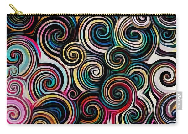Surreal Swirl  Carry-all Pouch