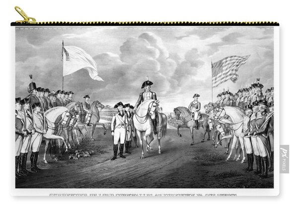 Surrender Of Lord Cornwallis At Yorktown Carry-all Pouch
