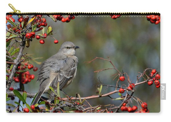 Surrounded By Berries Carry-all Pouch