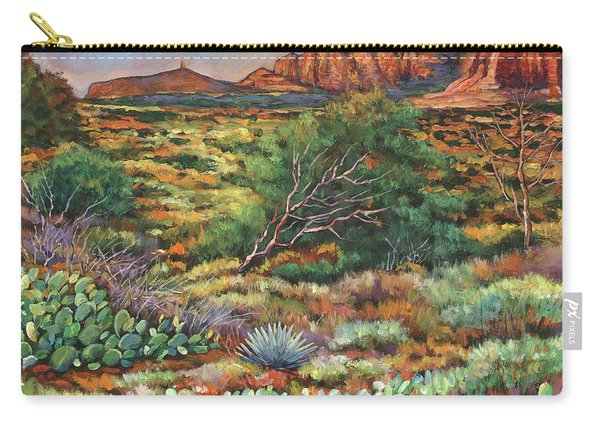Surrounded By Sedona Carry-all Pouch