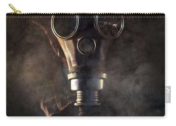 Carry-all Pouch featuring the photograph Survivor II by Jaroslaw Blaminsky