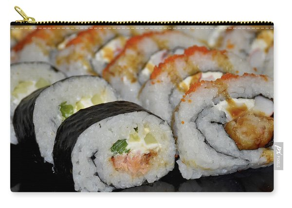 Sushi Rolls From Home Carry-all Pouch