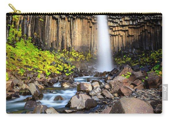 Svartifoss Waterfall Carry-all Pouch