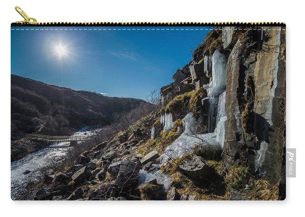 Svartifoss Waterfall, Icelandblack Falls Carry-all Pouch