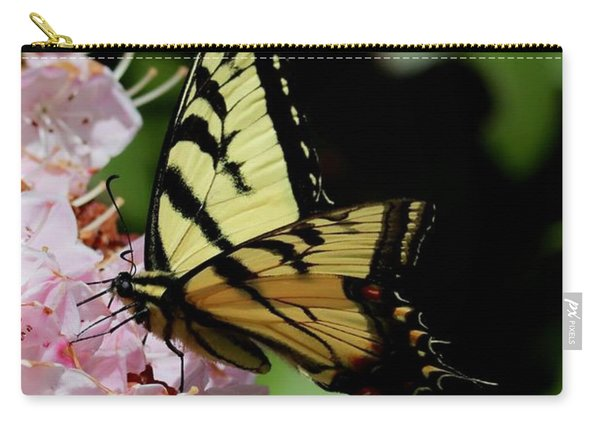 Swallow Tail On Mountain Laurel Carry-all Pouch