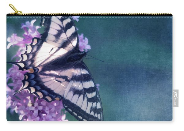 Swallowtail And Lilac Carry-all Pouch
