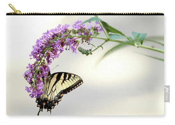 Swallowtail On Purple Flower Carry-all Pouch