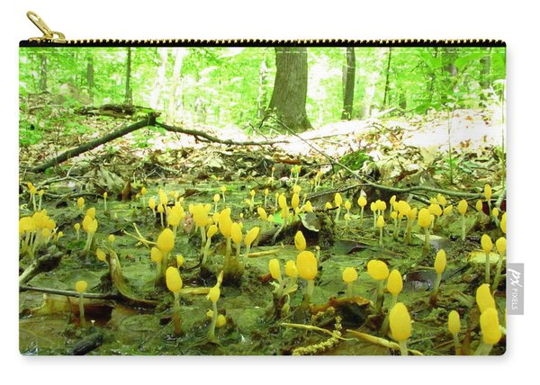 Swamp Becon Fungi Carry-all Pouch