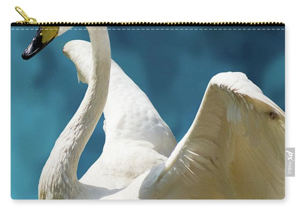 Swan Bunny Carry-all Pouch