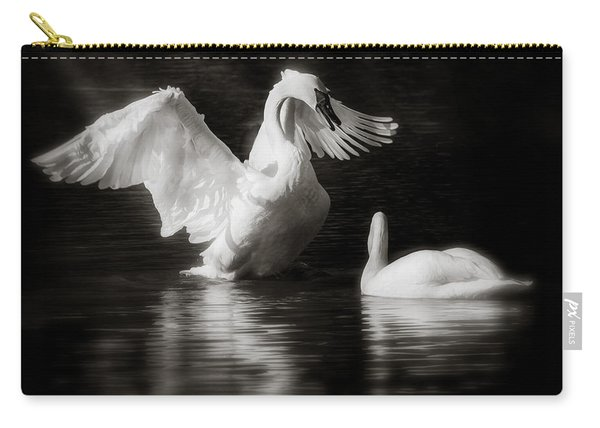 Swan Display Carry-all Pouch