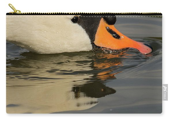 Swan Head  Carry-all Pouch