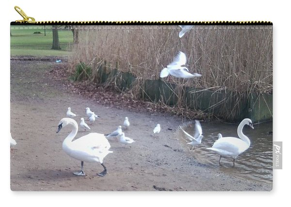 Swans 4 Carry-all Pouch