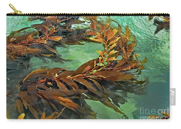 Swaying Seaweed Carry-all Pouch