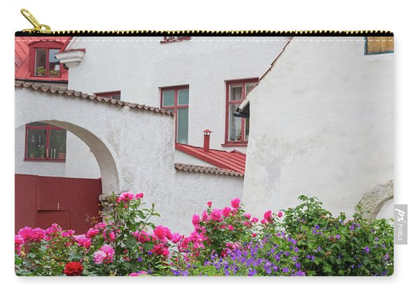 Swedish Town Visby Carry-all Pouch