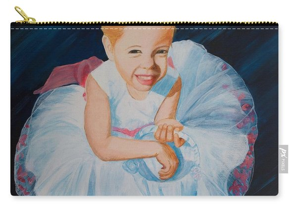 Sweet Flower Girl Carry-all Pouch