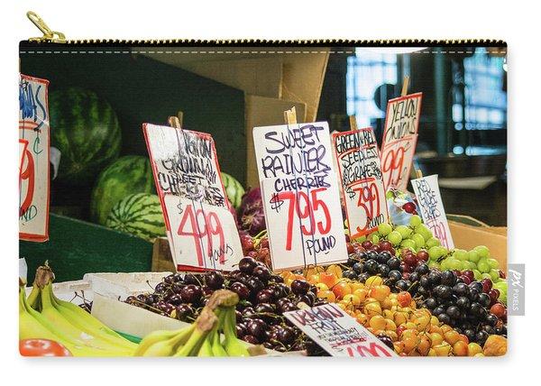 Sweet Rainier Cherries Carry-all Pouch