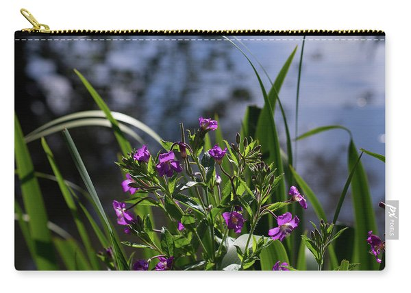 Sweet Violet Carry-all Pouch