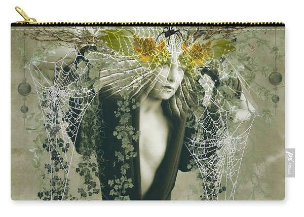 Sweet Webs Of Design Carry-all Pouch