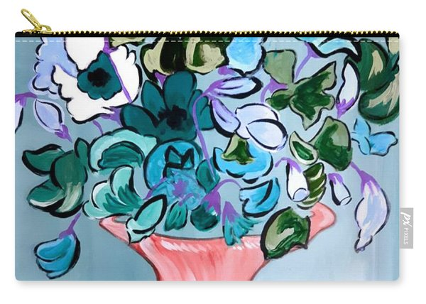 Sweetpeas Carry-all Pouch