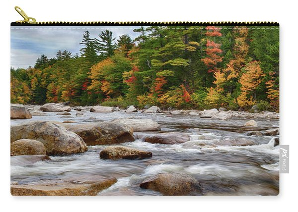 Swift River Runs Through Fall Colors Carry-all Pouch