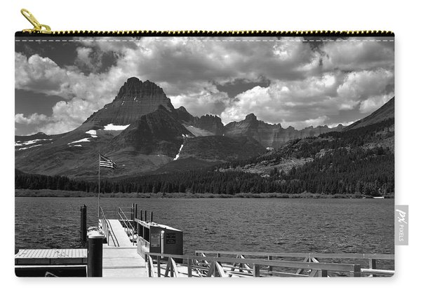 Swiftcurrent Lake Boat Dock Carry-all Pouch