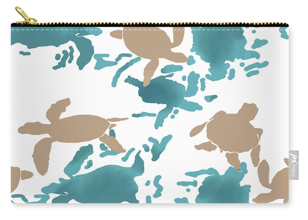 Swimming Turtles Carry-all Pouch